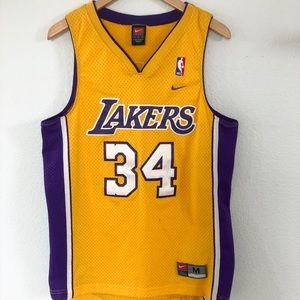 Nike Shaq Lakers Jersey